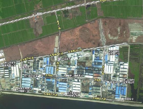 溫臺沿海產業帶臨海東部區塊南洋八路工程