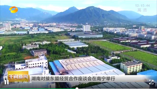 湖南对接东盟经贸合作座谈会在南宁举行