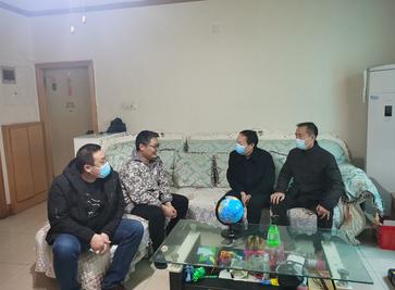 國控集團領導慰問國控建設困難職工