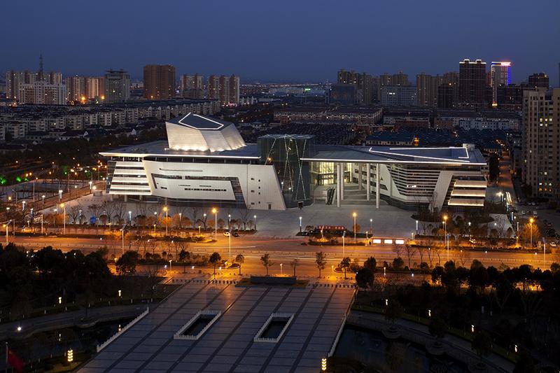 2017年魯班獎工程——華新建工集團承建的海安文化藝術中心