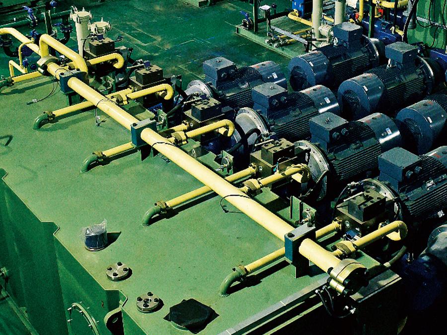 液壓成套設備整修支持服務