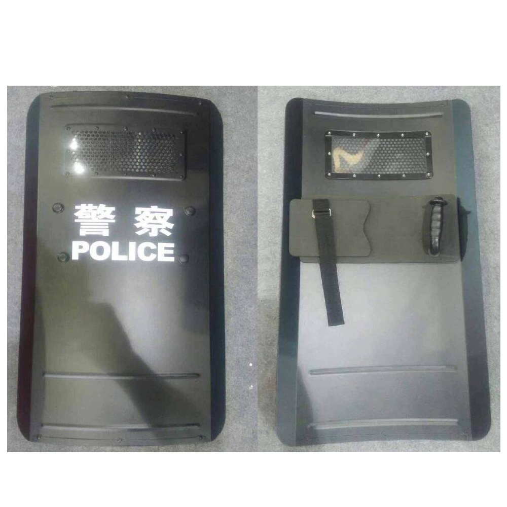 Do you know the common types and usage methods of riot shield from China manufacturer?