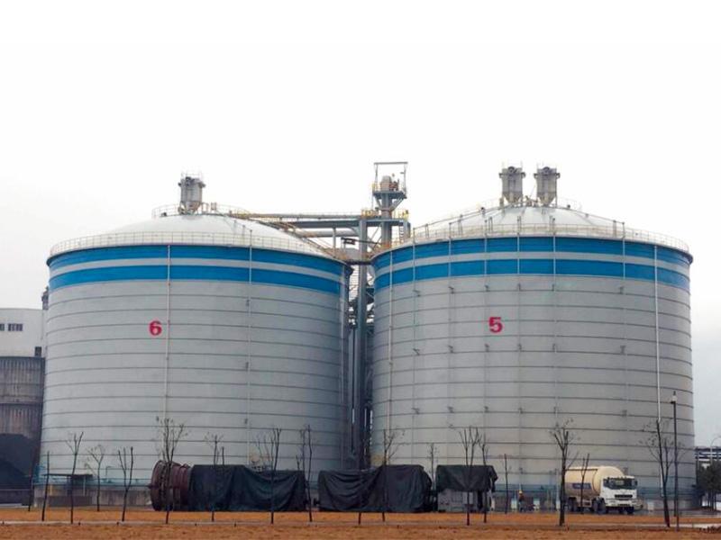 華電西塞山鋼板庫工程-大型鋼板庫工程-大型鋼板倉