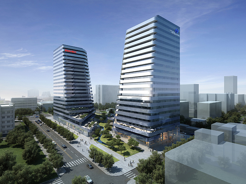 上海英業達超5A商辦中心