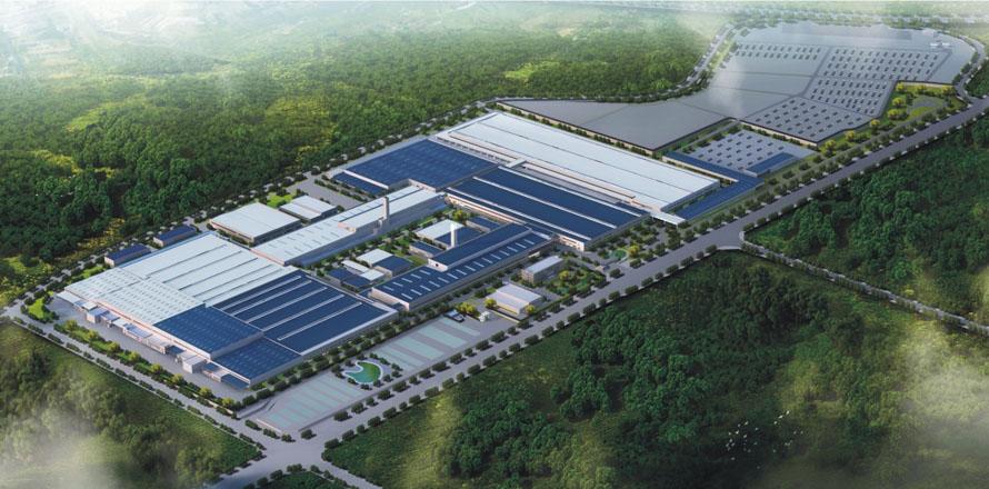 長安福特重慶整車二、三工廠項目