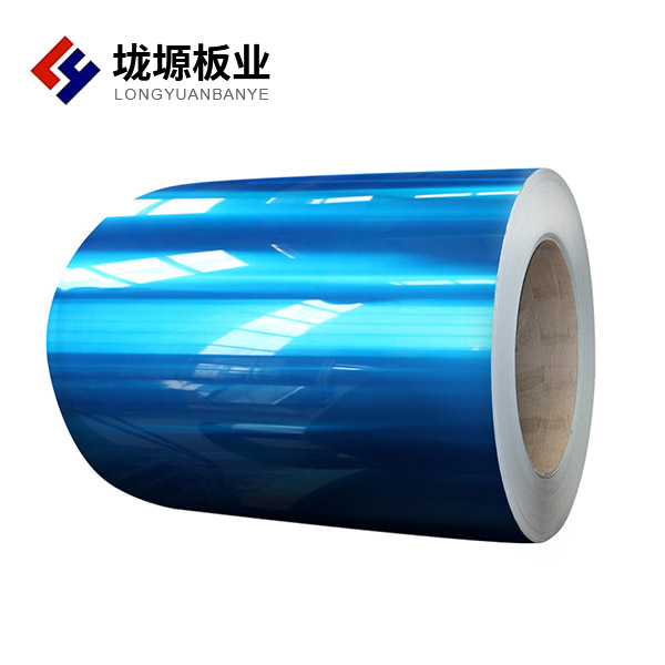 Color coated aluminum - magnesium - manganese plate