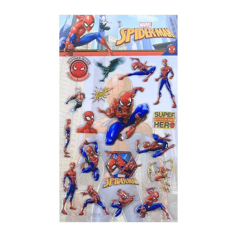 DIS-CY Spiderman Blister Sticker