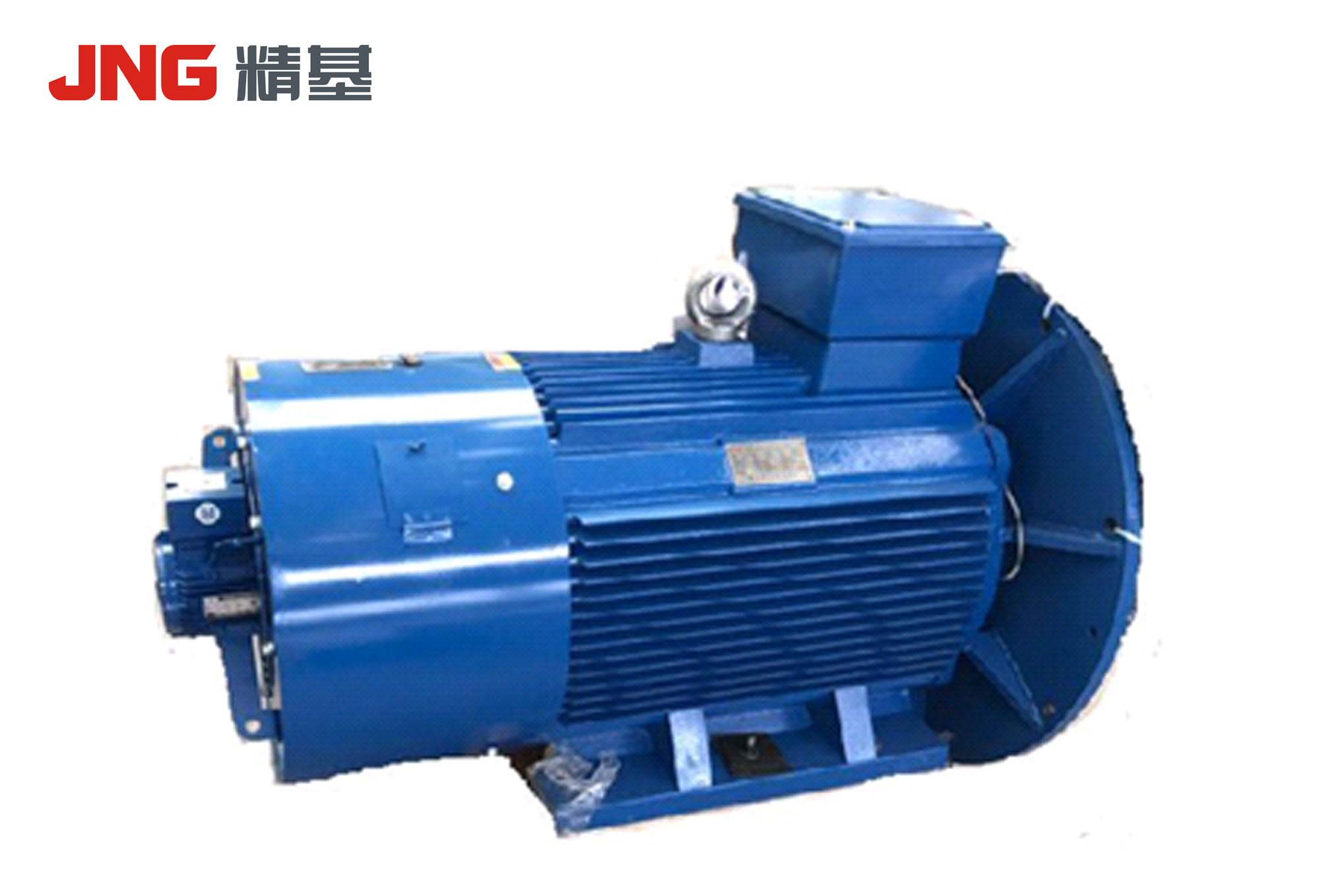 Permanent magnet synchronous motor for screw compressor