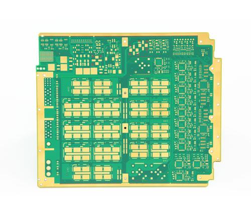 10層POFV工藝航空HDI印制板