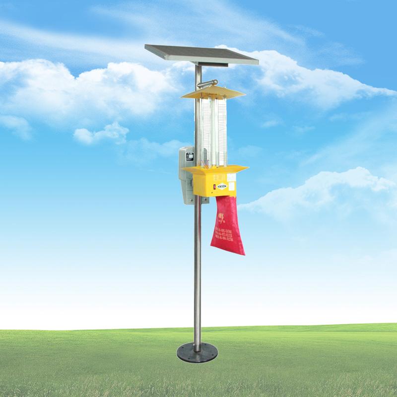佳多PS-15VI-4頻振式太陽能殺蟲燈