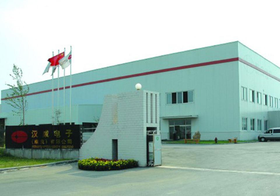 南京漢城電子廠區工程