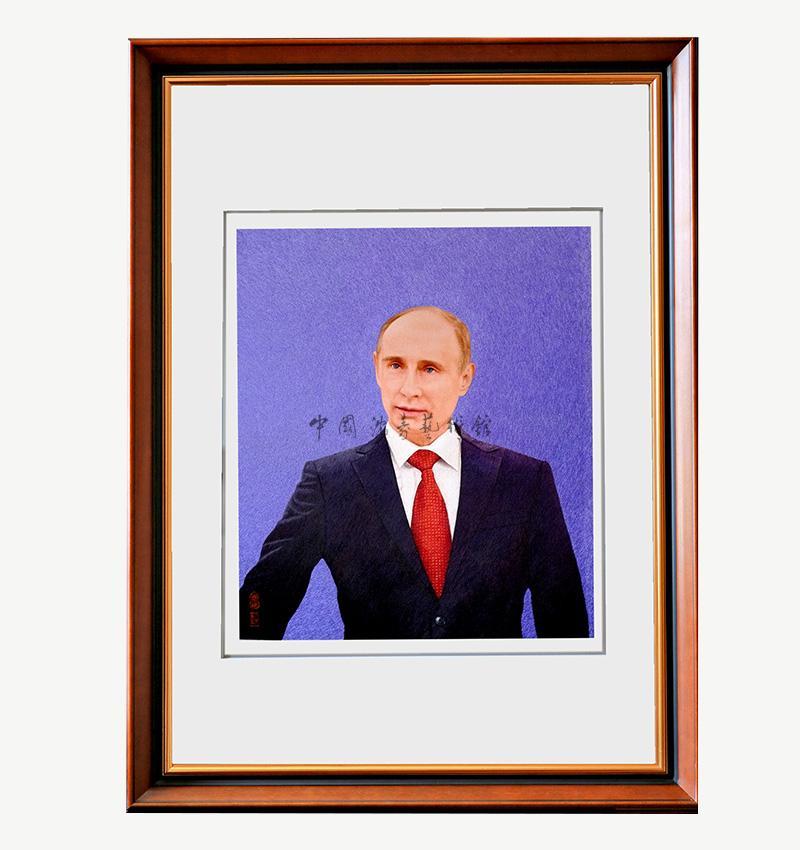 普京總統肖像