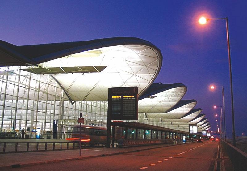 香港机场航空油库项目