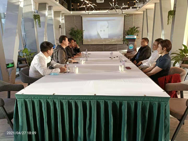 深化合作 低碳前行 国电南瑞研究院副院长王伟博士访问百灵天地