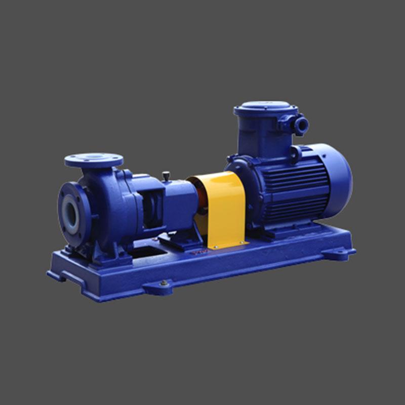 IHF襯氟離心泵聯軸器式