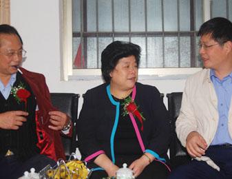 中共湘潭市委常委、副市长周放良前来公司说球帝直播高清工作