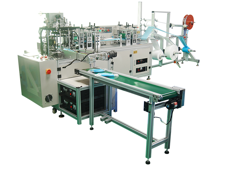 Automatic Disposable Outer Face Mask Machine 1in1