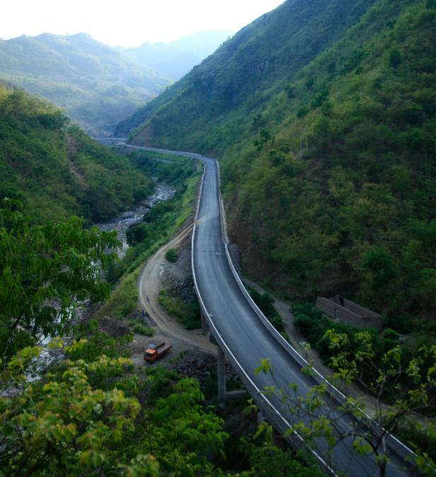 云南省道212線蠻耗至金平至金水河口岸二級公路建設項目