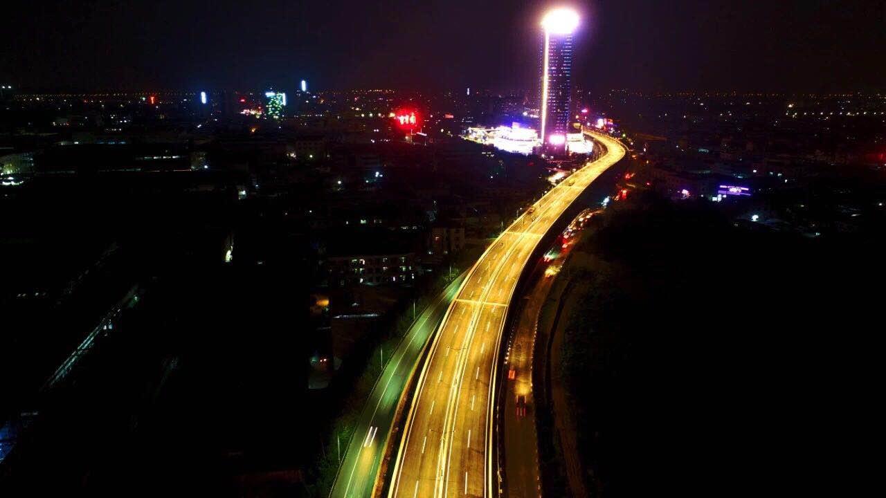 大良南國路快速化夜景