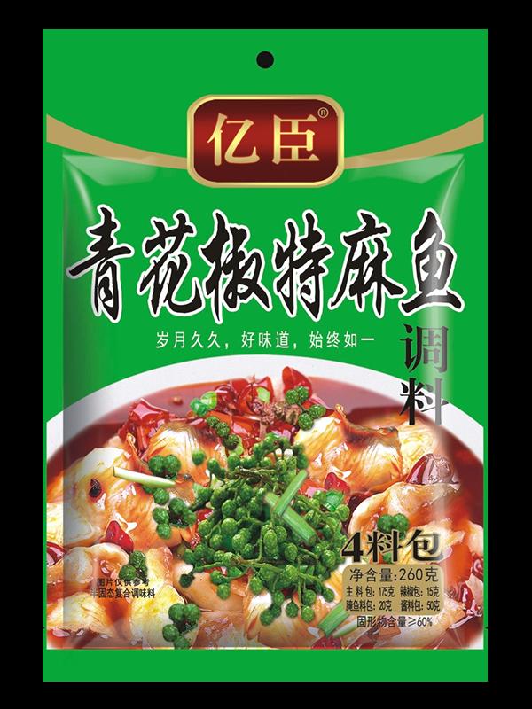 青花椒特麻魚調料260g