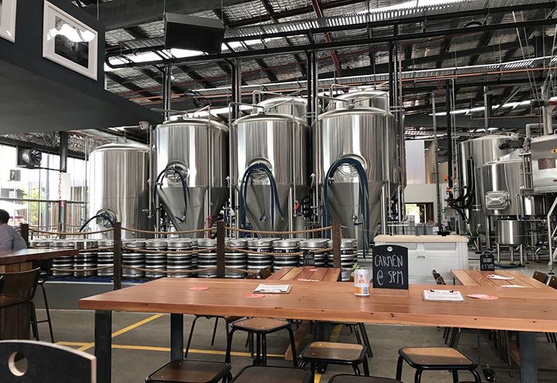 2017年9月 澳大利亞10000L發酵系統交鑰匙工程完成安裝