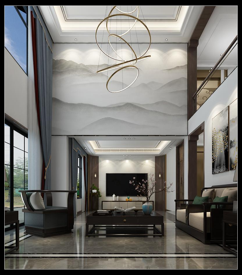 自建别墅新中式风格