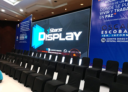 30SQM P5 Indoor Fixed Led Screen In Mexico