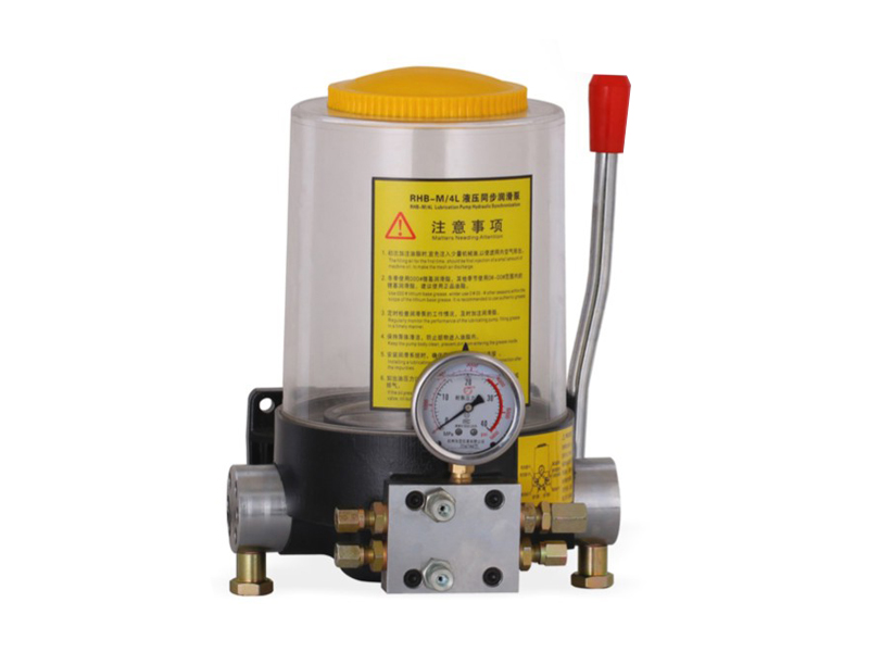 SRHB-M/4L hydraulic synchronous lubrication pumps