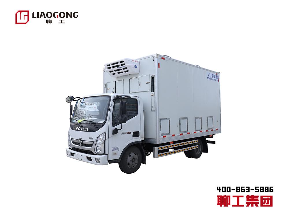 4.2米福田系列小型雞苗運輸車