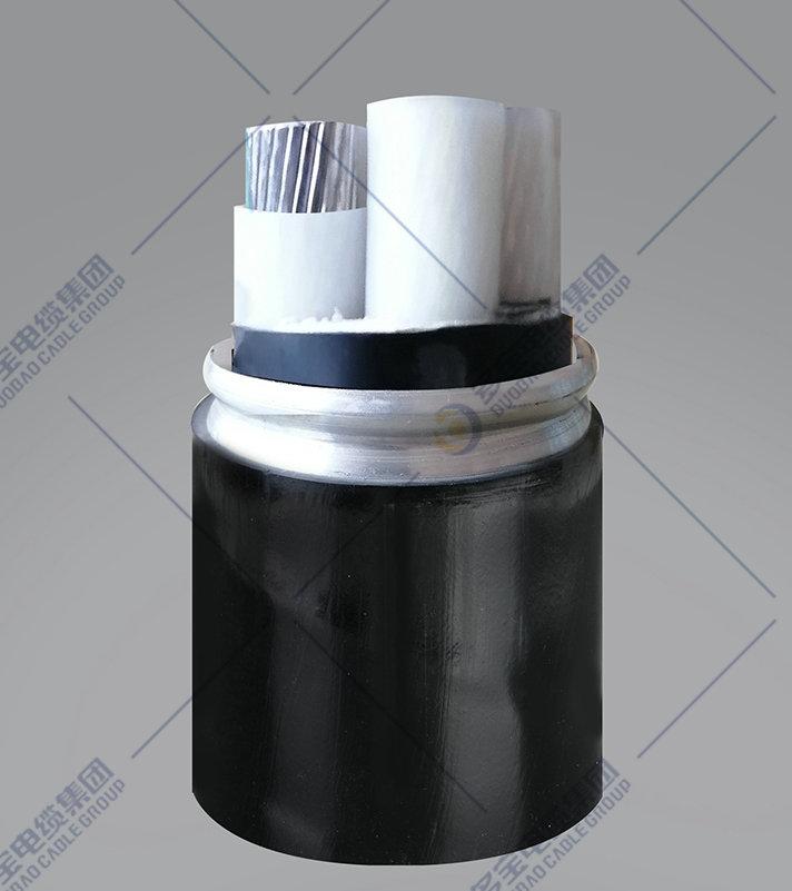 铝合金芯交联聚乙烯绝缘铝合金带联锁铠装聚氯乙烯护套电力电缆