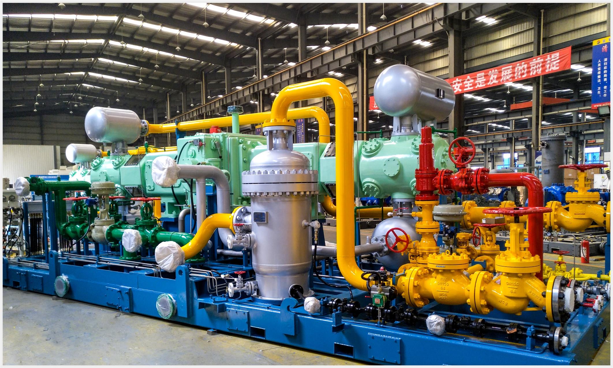 井口氣回收、管道增壓用壓縮機組