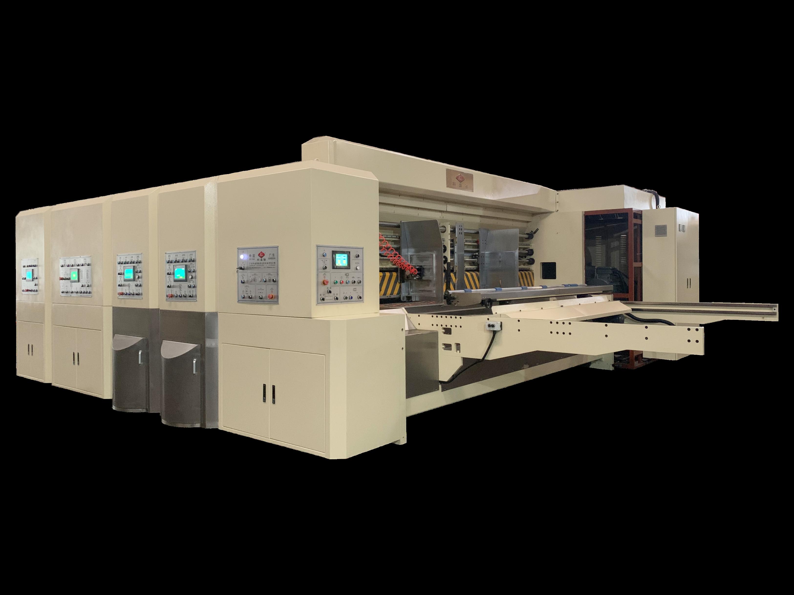 K1-型全電腦水性印刷開槽模切機(巨無霸)