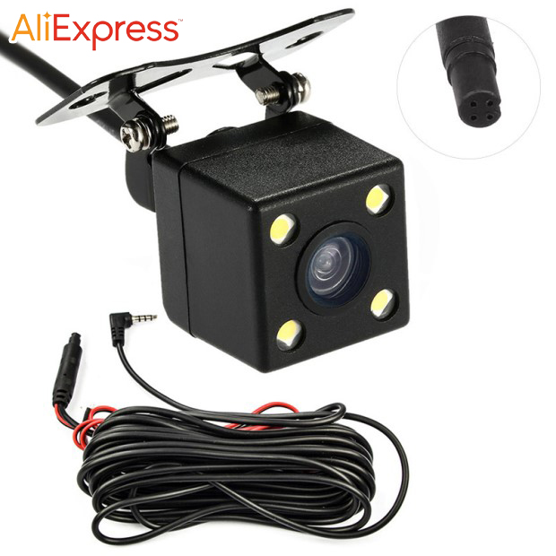 4-pin rear view camera