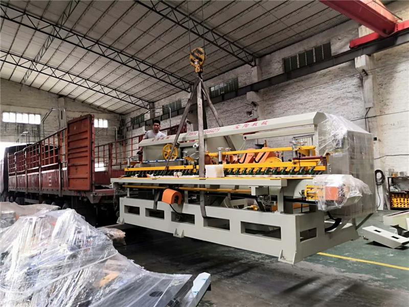 2019年4月份,多功能陶瓷切割機和14頭圓弧機等發往江西萍鄉