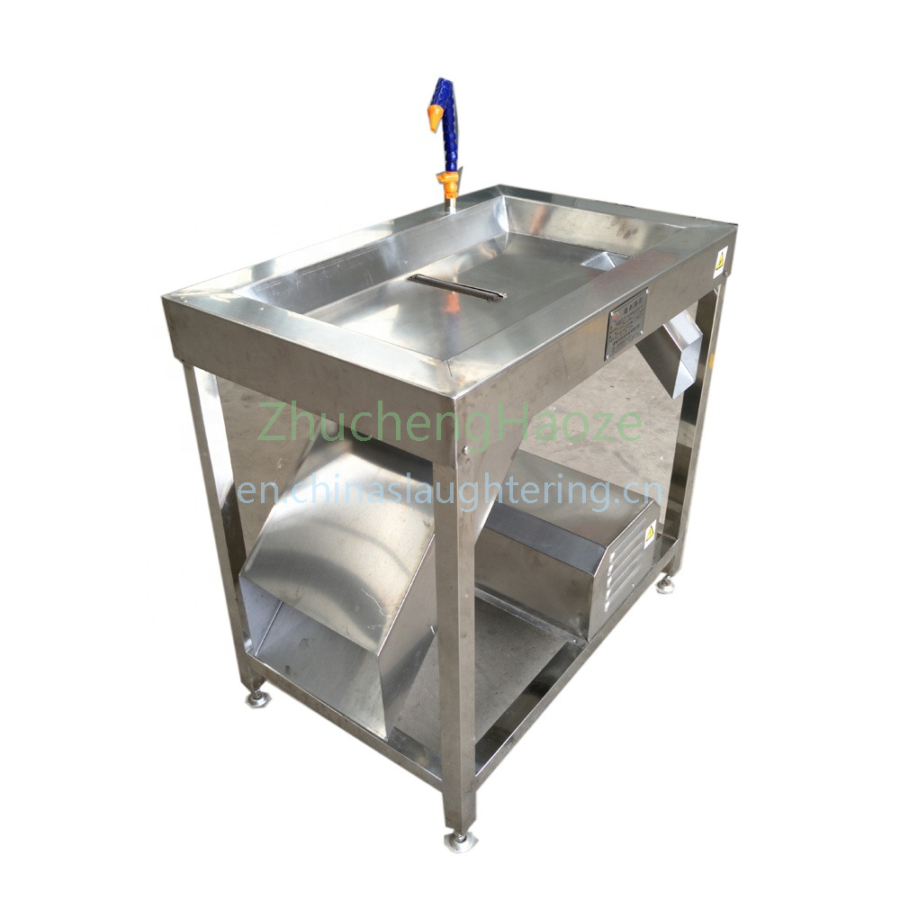 Single Chicken  evisceration Peeling Machine