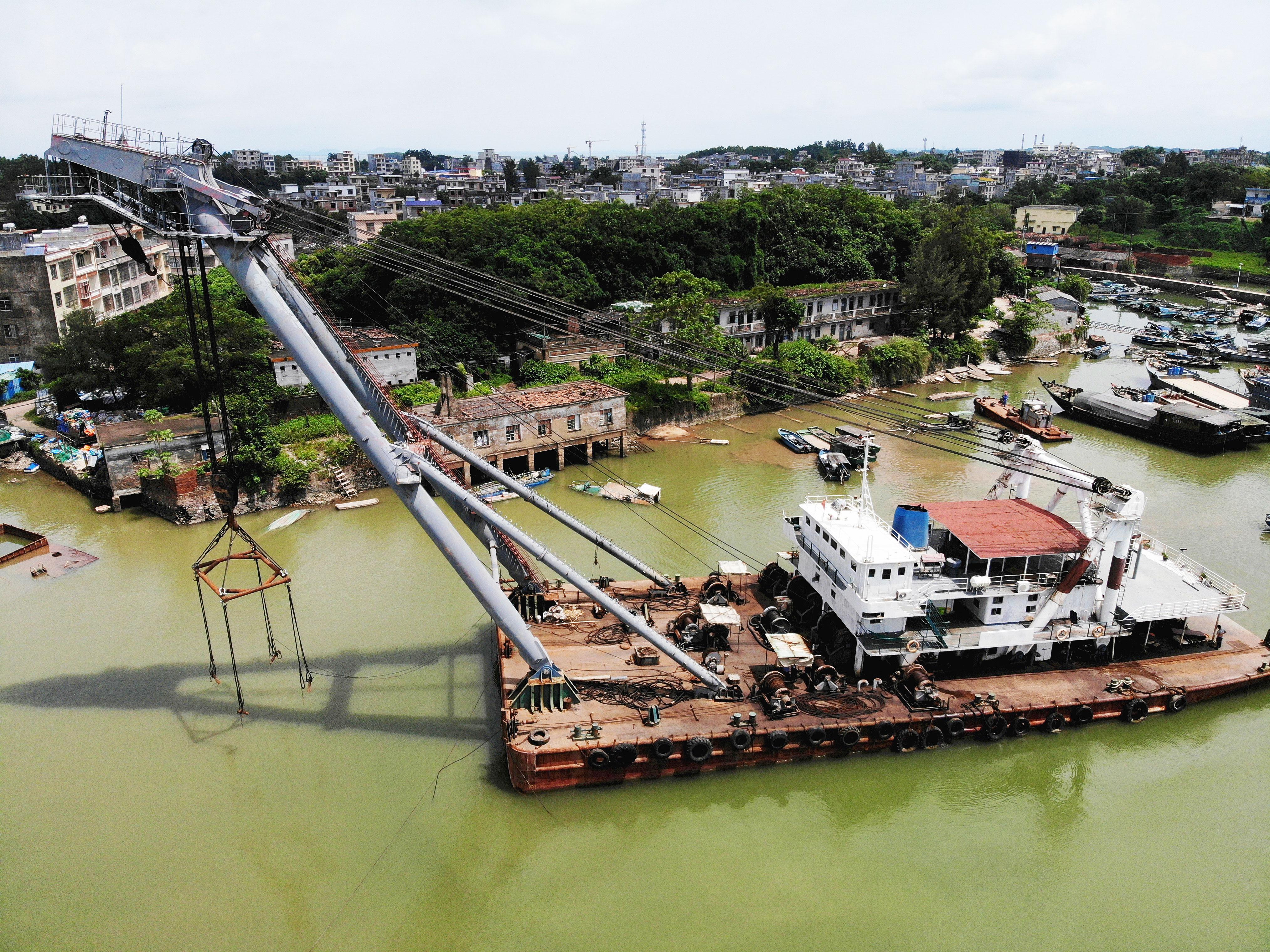 廣西欽州龍門一級漁港升級改造項目
