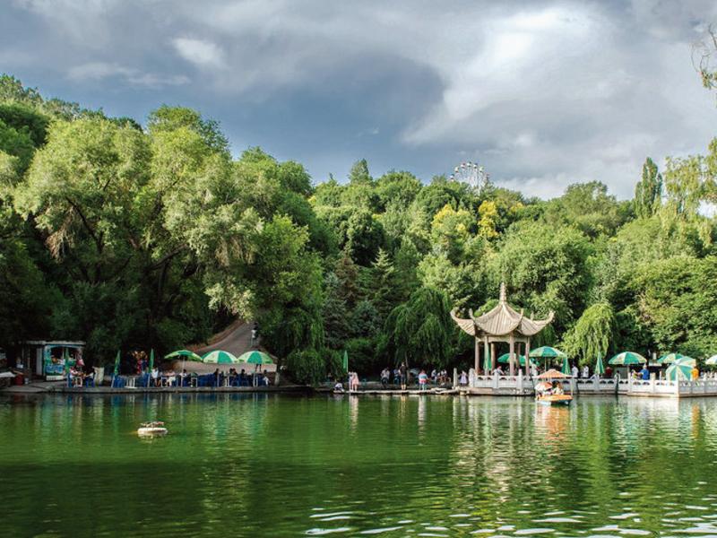 烏魯木齊紅山公園景觀改造