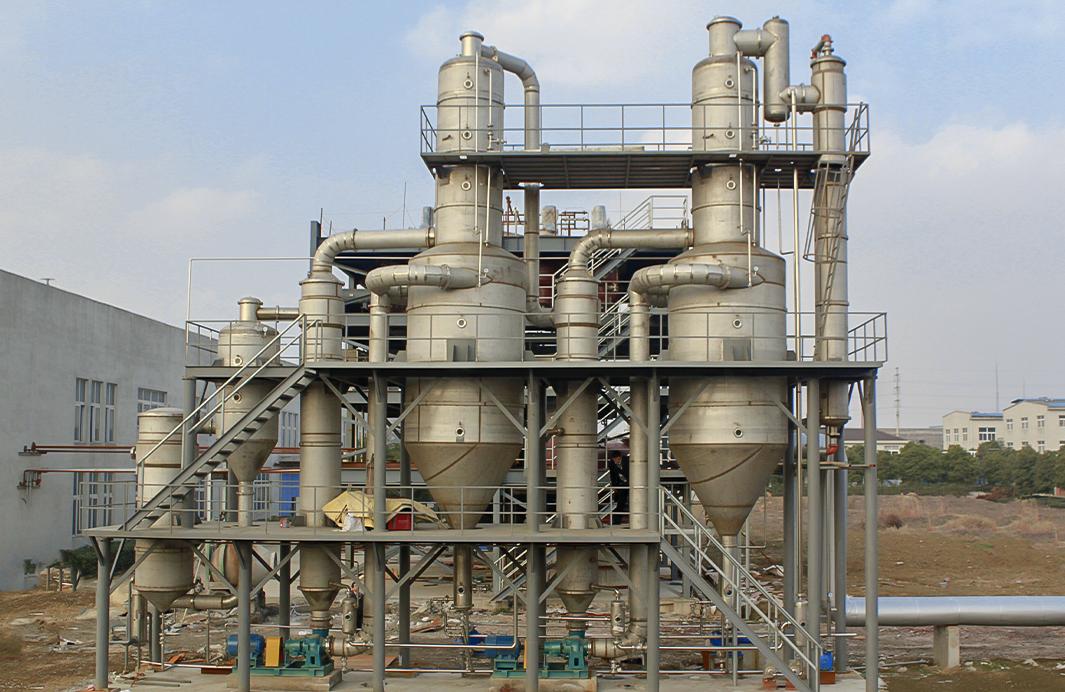 無錫環保企業硫酸鈉廢水三效OSLO蒸發結晶器裝置