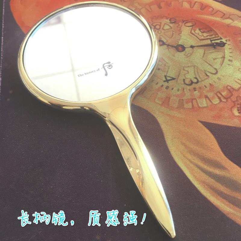 长柄化妆镜