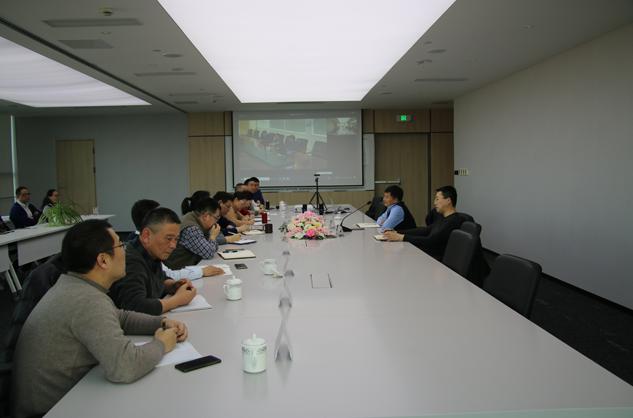 庄博亚洲官网环保集团干部会议召开