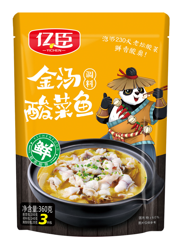 億臣金湯酸菜魚360克