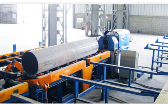 High Speed Pipe End Beveling Machine with ovality copying function