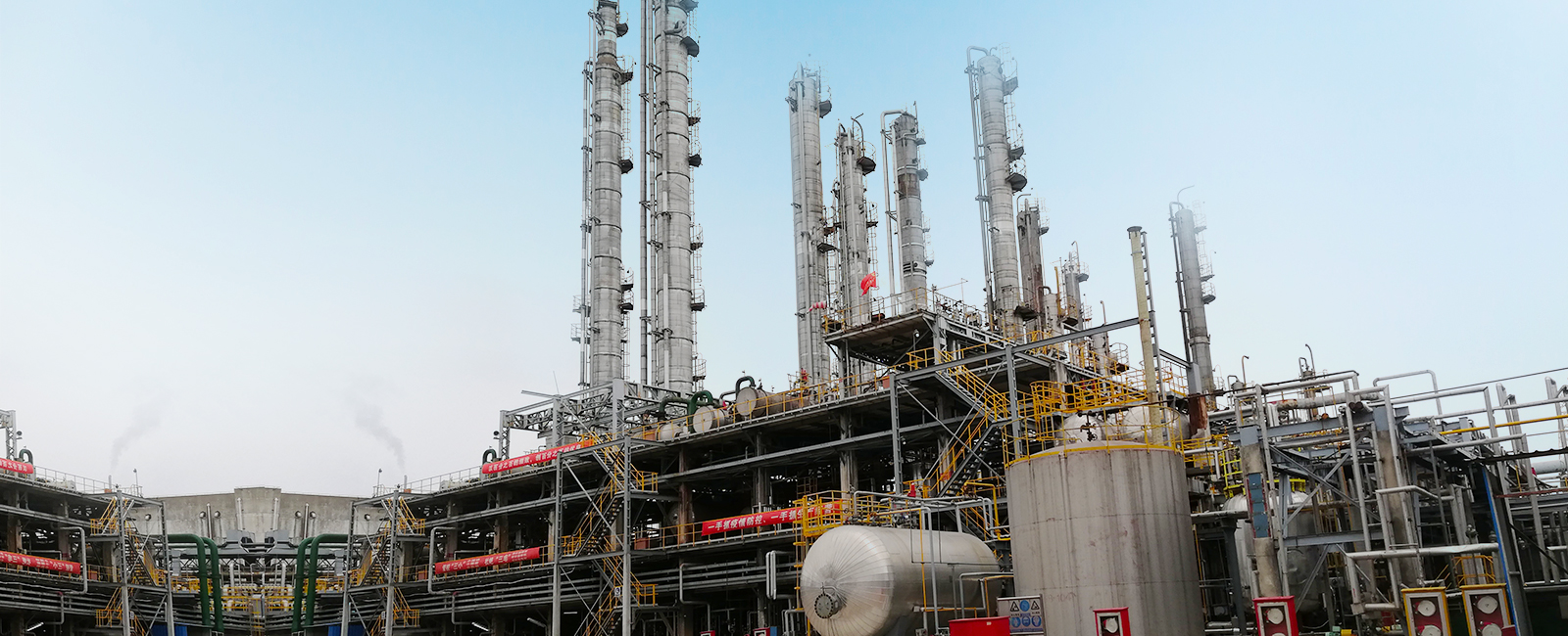 Various products from Sinoseal operate in Sinopec Shanghai petrochemical Butadiene unit
