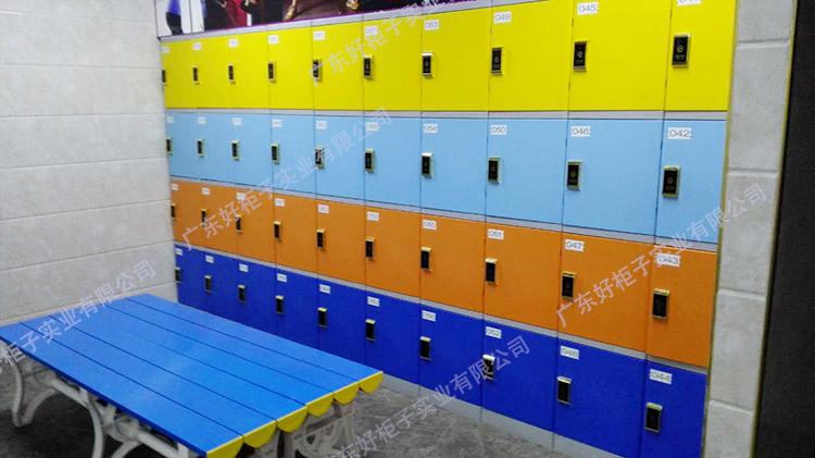 奧韻力健身俱樂部存包柜