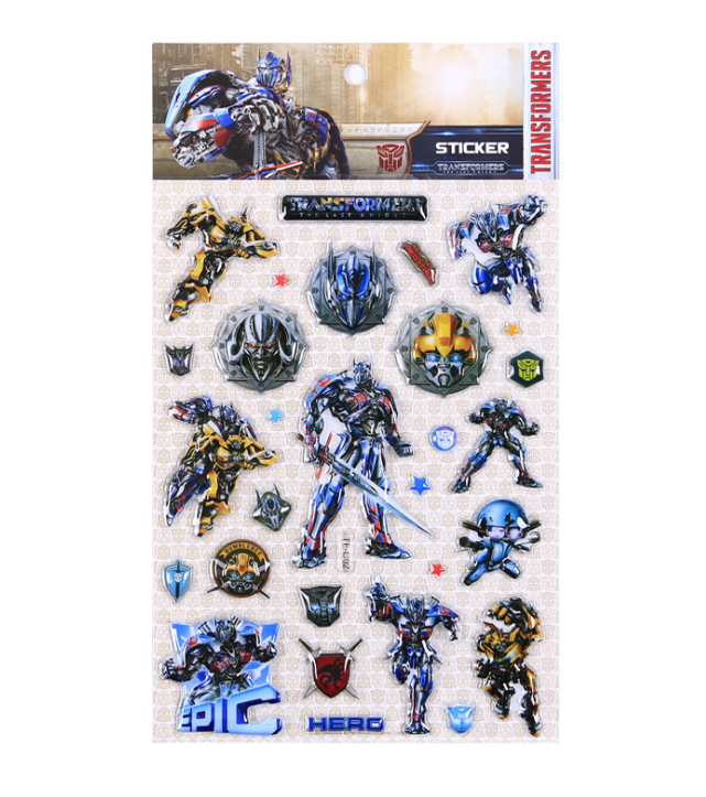 TF-C Transformers Blister Sticker