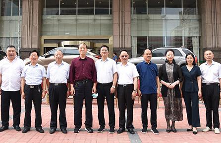 南通市建筑行業協會赴漢中市考察
