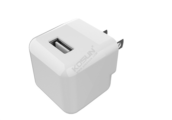 5V/1A Foldable Prong Wall Charger