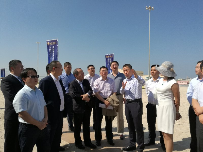 Deputy Director of the National Development and Reform Commission, Ning Jikai, led a delegation to investigate