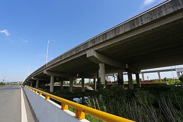 329国道上虞过境段立交桥