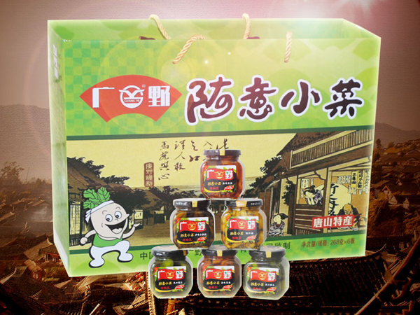 随意小菜(瓶装)礼盒